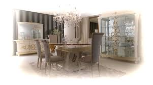Italian Dining Tables And Chairs Italian Dining Room Set Showcasing Extending Dining Table And 6