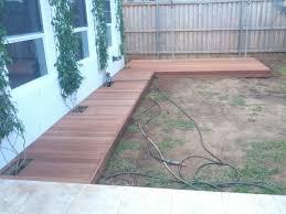 home dek decor diy build low deck boardwalk youtube