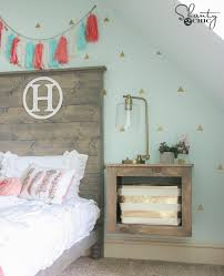 diy floating storage nightstand shanty 2 chic