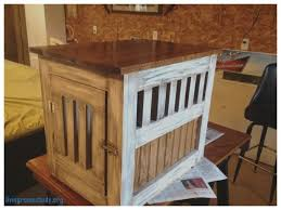 end tables lovely dog kennel end table plans dog kennel end