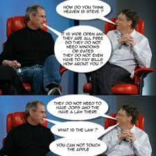 Bill Gates Steve Jobs Meme - bill gates and steve jobs are trolls your argument is invalid