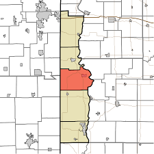Time Zone Map Indiana by Vermillion Township Vermillion County Indiana Wikipedia