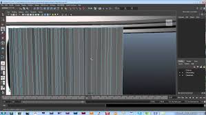 splines and nurbs in maya curtain rod and curtain youtube