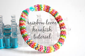 looms bracelet instructions images Hexafish rainbow loom bracelet 10 steps with pictures jpg