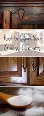Clean Kitchen Cabinets Wood How To Clean Grease Off Kitchen Cabinets Kitchen Design