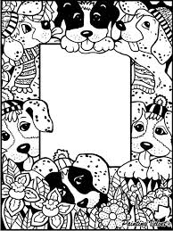 colour frame pens included puppies frames u0026 paintings