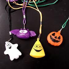 halloween flashing necklace