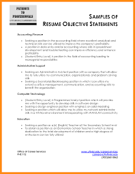administrative assistant job objective it objective statement for resume templates franklinfire co
