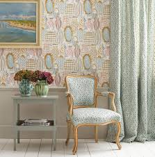 wallpaper interior design autumn 2017 les rêves wallpapers osborne u0026 little