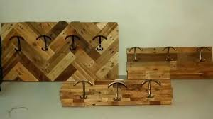 how to make coat racks with pallet wood youtube
