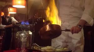 potence cuisine la potence flambée