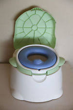 Safety 1st Potty Chair Safety 1st Blue Comfy Cushy Potty Trainer And Step Stool Ebay