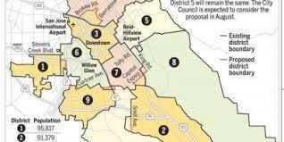 san jose unified district map san jose map maps san jose california usa