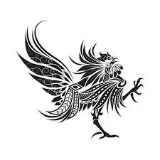 tattoos for tribal rooster tattoos getattoos us