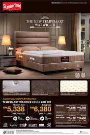 Promotion Slumberland - King size bedroom set malaysia