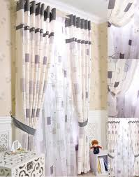 window curtains in white color for eco friendly style