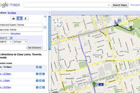 Google Maps And Directions A Closer Look At Ttc Routes On Google Maps