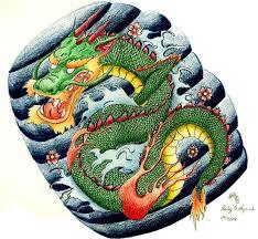 japanese dragon tattoo design by sketchbookflavor on deviantart