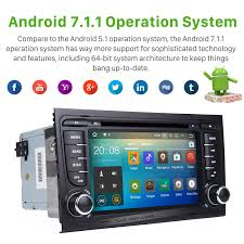 2011 audi a4 s4 rs4 android 7 1 hd touchscreen gps navigation car