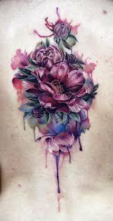 best 25 realistic flower tattoo ideas on pinterest watercolor