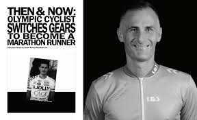 then and now olympic cyclist to marathon runner u003e aviano air base