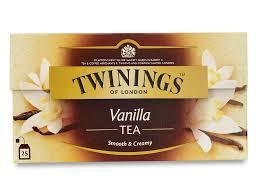 vanilla tea 25 envelopes international blends