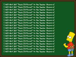 Meme Writing Generator - bart simpson s chalkboard parodies know your meme