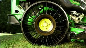 the new michelin x tweel turf exclusively on john deere ztrak