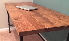 Diy Rustic Desk Diy How To Build A Desk