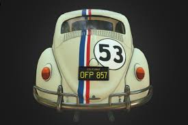 volkswagen beetle studio max 3d herbie 3d model in racing 3dexport
