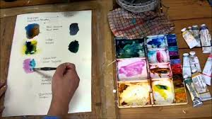 how to colour mix with watercolour by sheila gill youtube