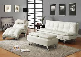 Sleepers Sofas Dilleston White Sofa Bed 300291 Coaster Furniture Sleepers Sofa