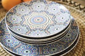 vaisselle en terre cuite assiette marocaine couscous u2013 ustensiles de cuisine