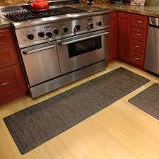 Kitchen  Stunning Rubber Kitchen Mats Home Depot With Regtangle - Decorative floor mats home