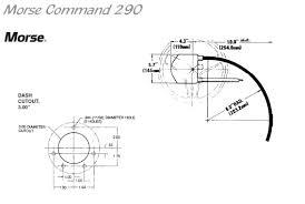 teleflex mechanical steering dimensions