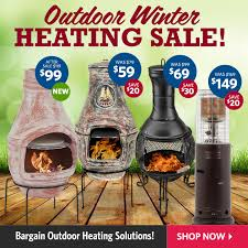 Sale Chiminea Dealsdirect Eofy Outdoor Heating Deals Intro Offer Clay