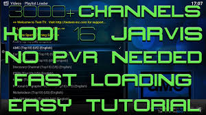 live tv on kodi 2016 3000 channels no pvr needed runs