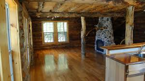 log cabin floors property from creek realty