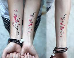 50 cute examples of cherry blossom tattoos for creative juice