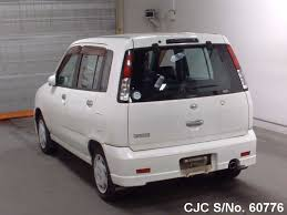 cube cars white 1998 nissan cube white for sale stock no 60776 japanese used