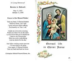 prayer cards for funerals bernice a babcock nana memorial may 17 1932 january 13 2009