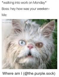 Monday Memes - walking into work on monday boss hey how was your weeken me