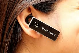 reconnect bluetooth mono headset designed for comfort good