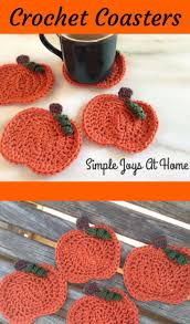 best 25 crochet fall coasters ideas on pinterest halloween