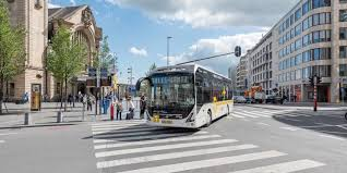 a new large fleet of 25 fully electric volvo 7900 buses is going