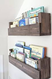 wall ideas how to build wall mounted bookshelves for less than