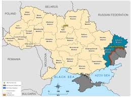 Map Ukraine Clearing Landmines And Other Debris Of War In Ukraine The Halo Trust