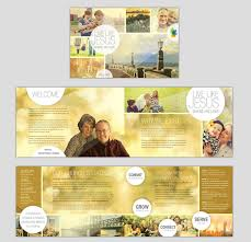 welcome brochure template how to make a church brochure printaholic