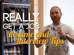 how to really land a job resume and interview tips video joe