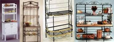 Bakers Racks For Kitchens Wrought Iron Bakers Racks Wrought Iron Baker Rack Iron Bakers